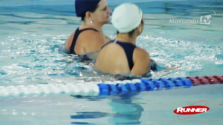 Aulas de natação e hidroginástica