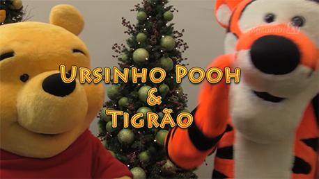 Venha tirar uma foto com Pooh & sua turma