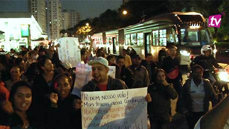 Moradores se unem pela retomada das obras de urbanização