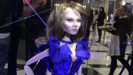 As marionetes são atração expostas no Morumbi Shopping