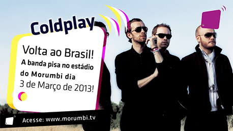 Show do COLDPLAY no estádio do Morumbi