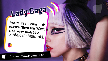 Show de Lady Gaga no estádio do Morumbi