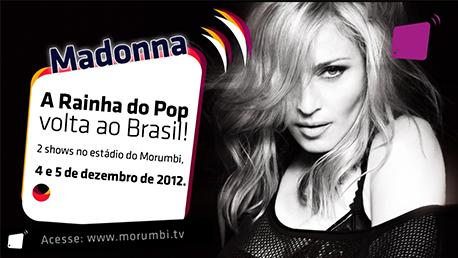 Show de Madonna no estádio do Morumbi